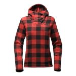 The North Face Women's Crescent Hooded Pull-Over – Cardinal Red Grizzly Print