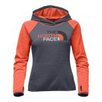 The North Face Women's Fave Half Dome Pull-Over Hoodie – Medium Grey Heather/Asphalt Grey Multi