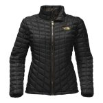 The North Face Women's Thermoball Full Zip – Black/Black BrightLight Print