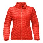 The North Face Women's Thermoball Full Zip – Fire Brick Red