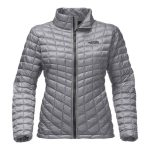 The North Face Women's Thermoball Full Zip – Mid Grey