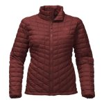 The North Face Women's Thermoball Full Zip – Sequoia Red Matte