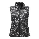 The North Face Women's Thermoball Vest – Black Late Bloomer Print