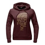 The North Face Women's Trivert Pull-Over Hoodie – Barolo Red Heather/Gold Foil