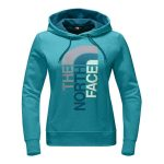 The North Face Women's Trivert Pull-Over Hoodie – Vistula Blue Heather/Egyptian Blue Multi