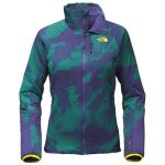 The North Face Women's Ventrix Jacket – Bright Navy Horizons Print/Bright Navy