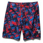 Under Armour Men's UA Bergwind Board Short – Rocket Red/Black/Amalgam Gray