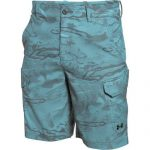 Under Armour Men's UA Fish Hunter Cargo Short – Caribbean Blue/Black