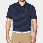 Under Armour Men's UA Playoff Polo Shirt – Academy/Steel/Steel