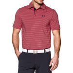 Under Armour Men's UA Playoff Polo Shirt – Red/Academy/Academy