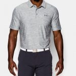 Under Armour Men's UA Playoff Polo Shirt – True Gray Heather/True Gray Heather/Graphite
