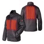 Venture Heat Insulated Heated Jacket for Men with 5V Power Bank
