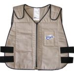TechKewl Phase Change Cooling Vest – Khaki