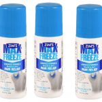 Zim's Max Freeze Muscle & Joint Pain Relief 3oz Cooling Roll-on – 3 Pack